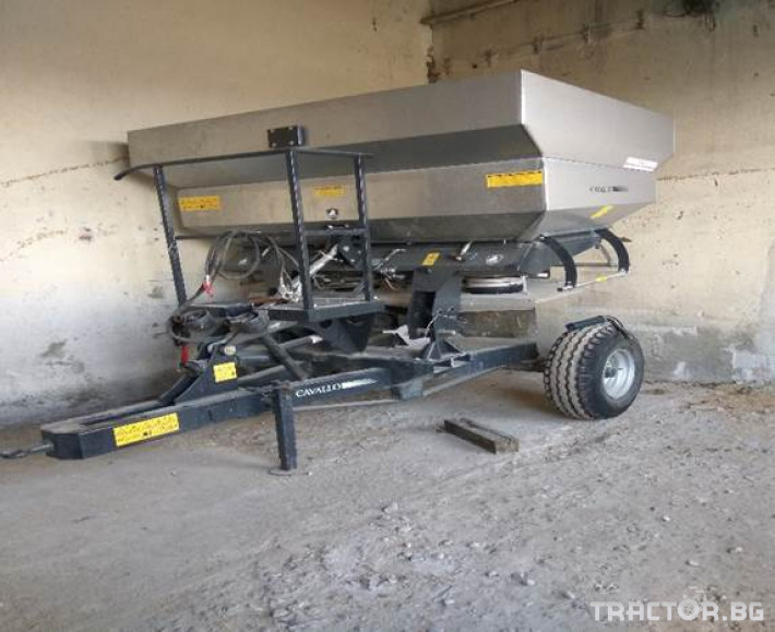 Торачки Cavallo Тороразпръсквачка Zeus 24 0 - Трактор БГ