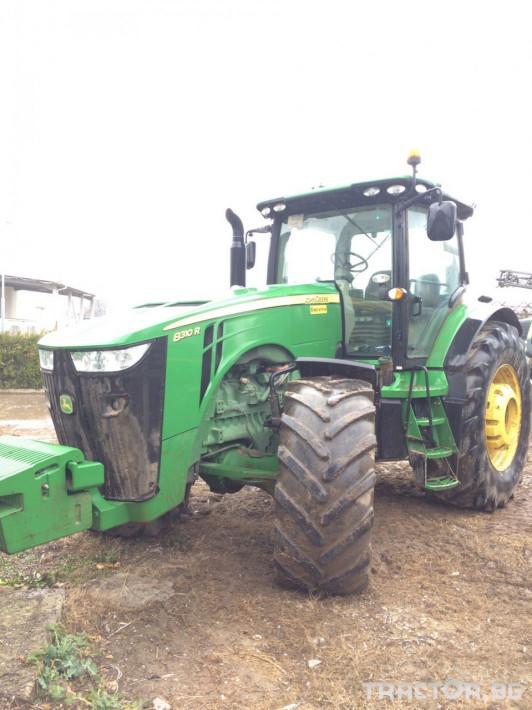 Трактори John-Deere 8310R 7 - Трактор БГ