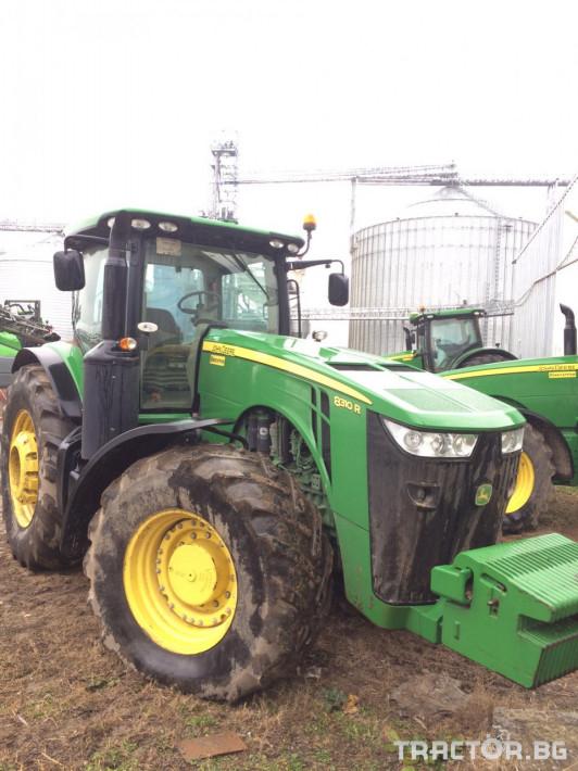 Трактори John-Deere 8310R 8 - Трактор БГ