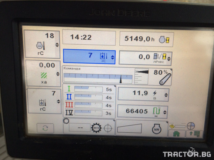 Трактори John-Deere 8310R 9 - Трактор БГ