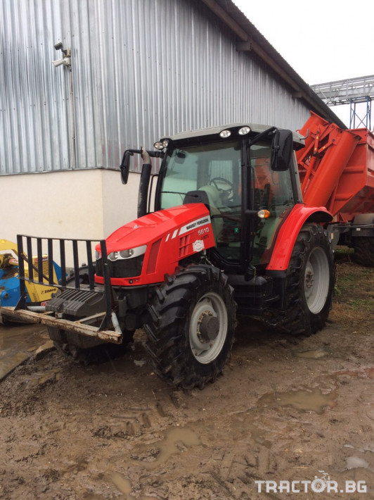 Трактори Massey Ferguson MF5610 DYNA4 1