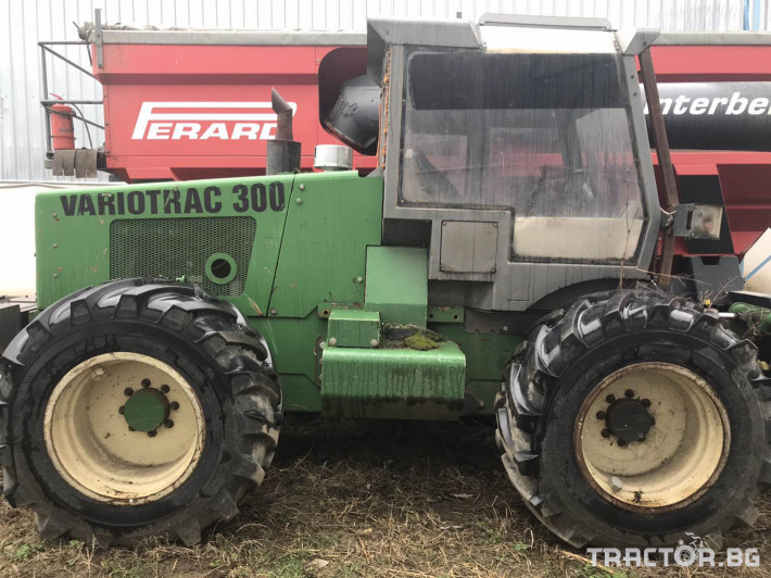 Техника за почистване Plaisance Variotrac 300 0 - Трактор БГ